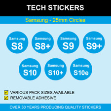 25mm Samsung Stickers / Labels