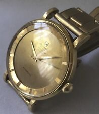 Universal Geneve Polerouter De Luxe 18K Solid Gold  Case And Dial