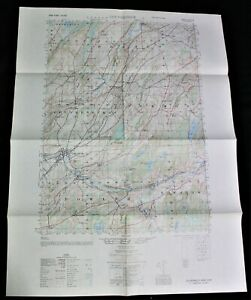 GOUVERNEUR NEW YORK QUADRANT TOPOGRAPHIC MAP 1951 ARMY CORPS OF ENGINEERS