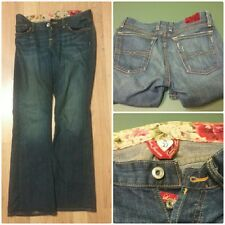 Lucky Brand womens Jeans SZ 4 / 27 Sweet Dreams Jean Distressed Button Fly USA