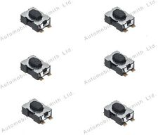 100 Micro Switches for Peugeot Citroen Fiat 2 3 4 button flip remote key repair