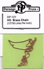 Durango Press HO 121 Brass Chain  #DP-121 - HO Model Trains