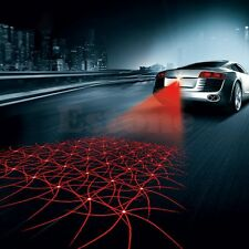Car Cool Pattern Anti-Collision End Rear Tail Fog Driving Laser Caution Light