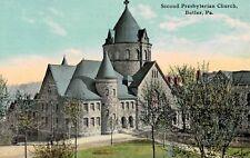 Butler,PA.Second Presbyterian Church,Used,1912