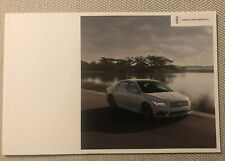 2020 LINCOLN CONTINENTAL 20-page Original Sales Brochure