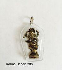 Tibetan Hindu Om Yoga Meditation Ganesh Pendant Necklace Locket Handmade Nepal
