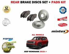For jeep renegade 1.4 1.6 CRD 2.0 4x4 2014 - > rear disc brake set +