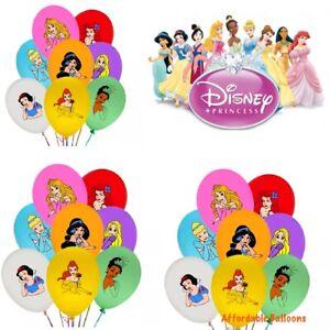 Princesses Latex Party Birthday Balloons Set Of 10. Princess Party Decorations