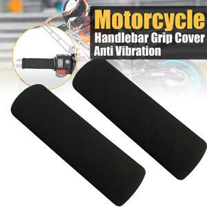 2pcs Grip Puppies Motorcycle Grip Covers Foam Comfort Handlebar Grips