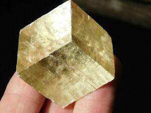 Iceland Spar HONEY Calcite Crystal 54.6gr