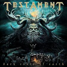 TESTAMENT - DARK ROOTS OF EARTH (BLACK VINYL)  2 VINYL LP NEU