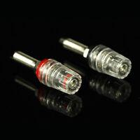 4pcs Rhodium plated audio Speaker Amp Speaker Terminal Binding Post HIFI