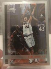 1997-98 Topps Chrome Tim Duncan Rookie Card RC #115