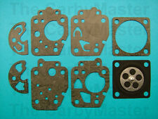 Teikei Replacement TK10 Gasket and Diaphragm Kit Fits Kawasaki TH48 and more