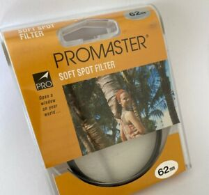 Promaster 62mm Soft Spot Filter *NEW* Made In Japan