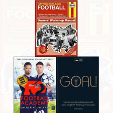 Football Collection F2 Goal New Skills Boris Starling Intimate Portraits 3 Books