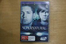 Supernatural : Season 2 (DVD, 2007, 6-Disc Set)   -  VGC Pre-owned (D50)