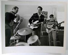 Original 1960's 8x10 Candid Photo at Their Home Studio The Beach Boys Rock