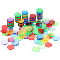 240pcs Plastic Bingo Chips Markers For Bingo Game Cards Counters Playing Games