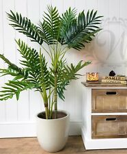 Indoor Potted Realistic Artificial 100cm Palm Tree Green Plant Outdoor