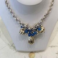 Collana Argento 925/°°° nuova con charms e pietre semipreziose cm 45,00  -50%