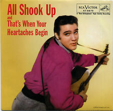 "ELVIS PRESLEY  ""ALL SHOOK UP""       RED VINYL    LISTEN"