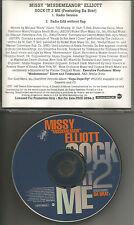 MISSY ELLIOTT & DA BRAT Sock it 2 me w/ RADIO trk & RARE EDIT PROMO DJ CD Single