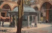 br105067 fontaine de la mosquee bayazid constantinople   turkey instanbul