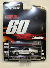 "Greenlight escala 1/64 1967 Ford Mustang Eleanor ido en 60 ""Coche Modelo Diecast"