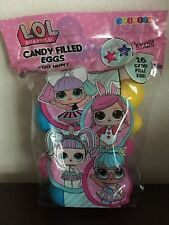 Lol Surprise Candy Filled Plastic Easter Eggs 16 Pack
