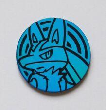 Lucario Pokemon TCG Coin (Blue)