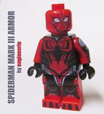 LEGO Custom -- Spiderman Mark III 3 Armor - Marvel Superheroes Ends of the earth