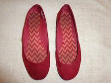 Unbranded RED FLAT, SHOES WOMENS SIZE 7
