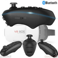 Mini Bluetooth VR-BOX Remote Control Mobile Gamepad For iPhone/Android phone VR