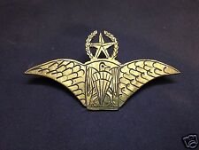 Nigeria master freefall airborne special forces commando para wing badge halo