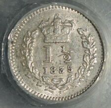 More details for 1835 three half pence. 5 over 4 variety