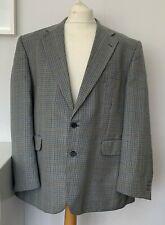 "DEBENHAMS Blazer Jacket XXL 2XL 48"" Chest GREEN 100% Wool Check Tartan See Descr"