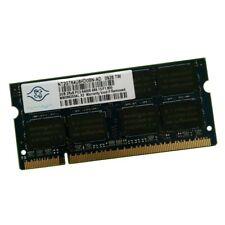 2Go RAM PC Portable SODIMM Nanya NT2GT64U8HD0BN-AD PC2-6400 800MHz DDR2 CL6