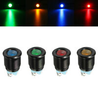 12V 16MM LED Dashboard Warning Light Car Dash Panel Indicator Lamp Universal
