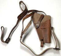 WWII US .45 PISTOL M7 SHOULDER HOLSTER- RUSETTE BROWN