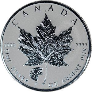 1 oz Silver Canada 2017 Reverse Proof Strike Cougar Privy .9999 Fine BU $5 Coin