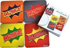 The Big Bang Theory - Bazinga! Coaster Set
