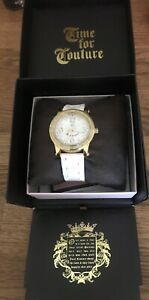 Juicy Couture Watch with Box and Instruction Booklet