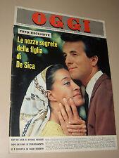 OGGI 1965/26=EMY DE SICA=PETER BALDWIN=ALFABETO BEATLES=PADRE ALDO DA MILANO=