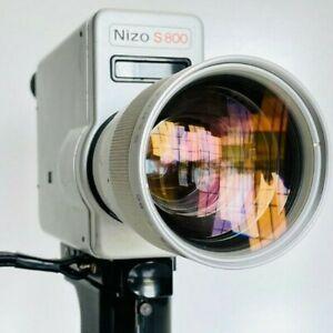 Braun Nizo S800 Super 8 Camera Working / Film Tested