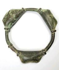 Antique 18/19C African Bronze Ankle Rattle for Captives
