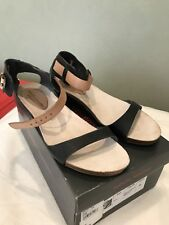 Isabella Anselmi Leather Sandals, Made In Spain Size 38, Black RRP $179.90