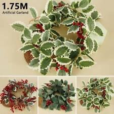 Fleur artificielle soie feuille guirlande vigne Lvy maison mariage décoration SH
