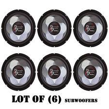 "Lot of (6) Pyramid PW677X 6"" 300 Watt Subwoofers, For Car Audio, Marine Audio"