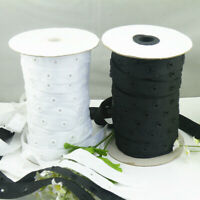 5Yards Plastic Snap Button Tape Ribbons Crafts Fabric Garment Sewing DIY Crafts
